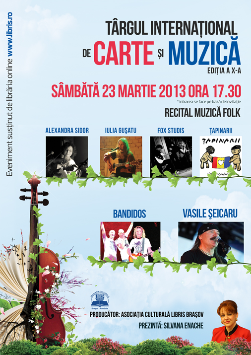 seicaru,Concert la Targul International de Carte si Muzica, Brasov