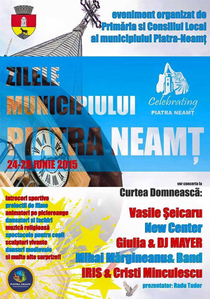 seicaru,Zilele municipiului Piatra Neamt 24-28 iunie 2015, Curtea Domneasca