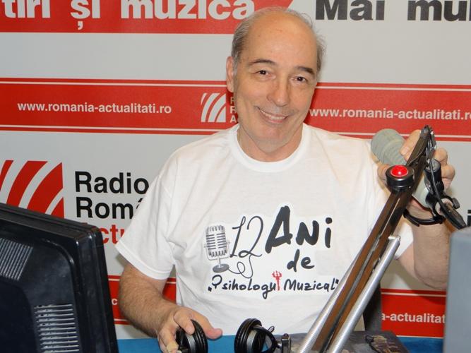 Andrei Partos, Psihologul muzical, radio romania,12 ani