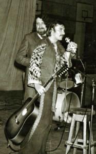 Cu Aurel Gherghel, in anii  '70, la Sala Sporturilor din Galati!