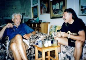 Cu Nicolaescu, Sergiu Nicolaescu, acasa la Luiza Cala !