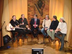 Folkisti la Nasul ! Baniciu, Socaciu, Nashul (asta nu e folkist), Bertzi, Vintila, Seicaru.